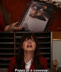 """When Jess was feeling fragile. 