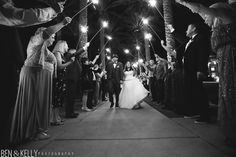 Marissa and Kyle get married at the JW Marriott at Desert Ridge // Photographed by Ben and Kelly Photography