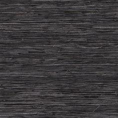 Jonathan Adler Slate Grasscloth Wallpaper contemporary wallpaper for entry Grey Grasscloth Wallpaper, Seagrass Wallpaper, Textured Wallpaper, Charcoal Wallpaper, Aqua Wallpaper, Bedroom Wallpaper, Wallpaper Backgrounds, Jonathan Adler, Shelves In Bedroom