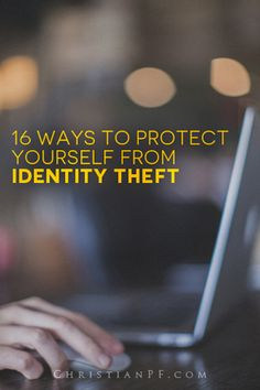 While no one can totally prevent it, there are many things you can do to protect yourself from online fraud and identity theft. Check out these 16 simple things you can do today to minimize your chances of becoming a victim. Saving Tips, Saving Money, Identity Theft Protection, Accounting Information, Financial Tips, How To Protect Yourself, Money Matters, Ways To Save, Way To Make Money