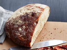 No-Knead Peasant Bread. (Via Kim's friend.)