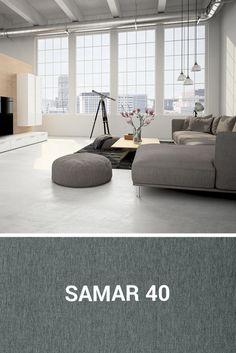 Tkaninę Samar idealnie skomponujesz z wnętrzem minimalistycznym. Samar, Floor Chair, Flooring, Furniture, Home Decor, Decoration Home, Room Decor, Wood Flooring, Home Furnishings