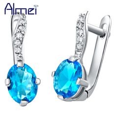 Find More Stud Earrings Information about Cheap Earrings with Sapphire Women Jewellery Sterling Silver Earring Red Crystal Brincos De Festa Ruby Stone Bijoux Ulove R422,High Quality earrings eyebrow,China earring crystal Suppliers, Cheap earrings wing from Almei Jewelry Store on Aliexpress.com