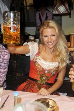 I want this for my Germany trip! (The dress, not the woman!)