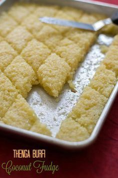 awesome Easy Coconut Burfi Recipe