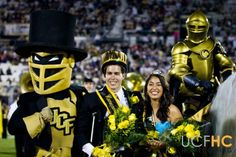Ashley Jaramillo and Michael Irene: UCF Homecoming Queen & King l Her Campus UCF