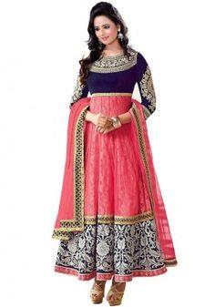 Salwar Suits for Women - Buy Ladies Designer Salwar Kameez Online Indian Anarkali Dresses, Pakistani Party Wear Dresses, Salwar Dress, Party Wear Lehenga, Anarkali Suits, Indian Sarees, Long Anarkali, Anarkali Gown, Pakistani Suits