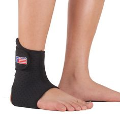 Free Shipping  SX662 Sports Basketball Elastic Ankle Foot Brace Support Wrap - Black