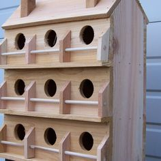 Purple Martin House Plans, Martin Bird House, Wooden Bird Houses, Bird Houses Diy, Building Bird Houses, Wood Bird Feeder, Bird House Feeder, Purple Martin Birdhouse, Bird House Plans Free