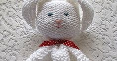 Bunny Blanket Buddy This knit pattern / tutorial is available for free...  Full Post: Bunny Blanket Buddy