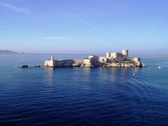 Château d'If, Marseille, France - Infamous prison of the Count of Monte Cristo, as written by Alexandre Dumas