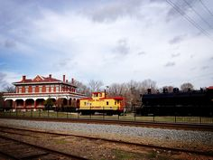 Texas Pacific Railroad Museum, Marshall, Texas.