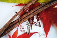 #kolczyki #earrings #wire #wire-wrapping #biżuteria #jewelry