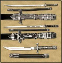 Samurai 3000 Vibro-Blade Set.
