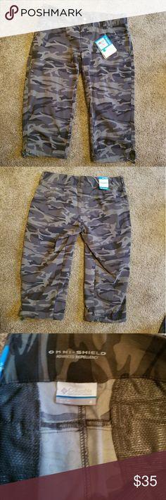 Columbia camo shorts brand new shorts size 8 Columbia Shorts Skorts