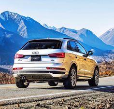 Audi: Pick a mountain and start climbing. Dream Cars, Suv 4x4, Audi Q3, Audi Quattro, Alaska, Climbing, Benz, Porsche, Mountain