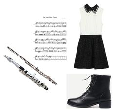 """BAND CONCERT!!!!!!!!!!!!"" by takenlittleone ❤ liked on Polyvore featuring WithChic"