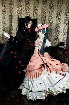 Kuromitu(黒蜜) Ciel Phantomhive Cosplay Photo - Cute WorldCosplay