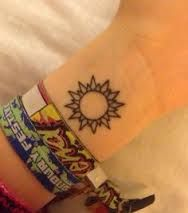 Image result for sun tattoos