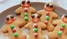 8 of our simplest (but delicious!) recipes for those tired of holiday baking. Best Cookie Recipes, Baking Recipes, Gingerbread Man Cookies, Gingerbread Men, Delicious Recipes, Yummy Food, Holiday Baking, Cookie Bars, Tired