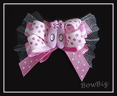 #BTQ010 - Boutique Dog Bow - Tutu Sweet