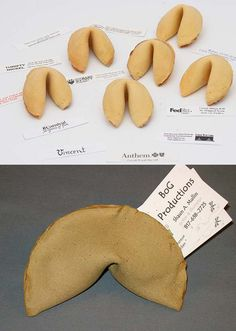 Fortune Cookie ••• #Business #Cards