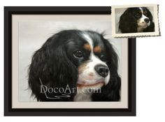 CUSTOM OIL PAINTING OF YOUR DOG OR CAT; Usually $209.00, One week special price- $54.99 Simply by using a photo of your pet, DocoArt.com can create a custom oil painting which pet owners are sure to love. This 100% handmade oil painting will capture the true essence and beauty of your pet and you are certain to be delighted every time you look at it.