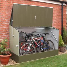 Shop Bosmere A30 Trimetals Bicycle Storage Shed at The Mine. Browse our sheds, all with free shipping and best price guaranteed.