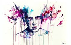 Watercolor Paintings by Agnes Cecile-breaks my heart just looking at it
