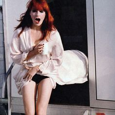 Florence Welch (from Florence + The Machine).  I adore her.