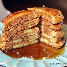 Buttermilk Banana Pancakes by