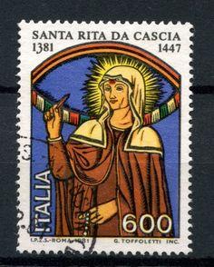 Italy 1981  St Rita of Cascia stamp