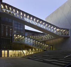 "Cultural Centre ""De Grote Post"", Ostend, BE by B-Architecten."