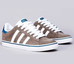 adidas Skateboarding Campus Vulc – Titan Grey / Hero Blue