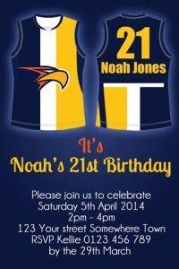 West Coast Eagles invite
