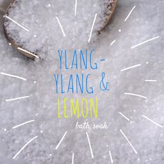 New to EnlightenedLotusByEC on Etsy: Ylang Ylang & Lemon Bath Soak Bath Salts  All Natural Bath Soak (9.95 USD)