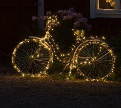 Pyörä valoilla