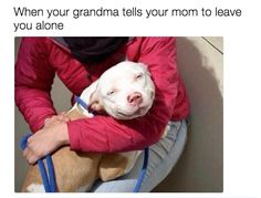 When your grandma takes your side in an argument with your mom and all is good and right in the world.