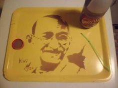 Vẽ tranh bằng đồ ăn