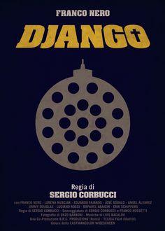 DJANGO - Sergio Corbucci (1966) / Artwork by Federico Mancosu