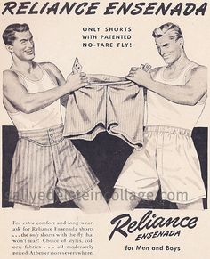 RELIANCE for Men and Boys.