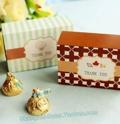 Beter Gifts® http://shgfts.1688.com #喜糖盒 #糖盒 #糖果包装 #春季派对 #婚礼布置   Beach Party Decor Ocean Seashell Favor Boxes TH035