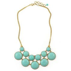 swell caroline turqoise necklace....reminds me of Courtney's jewelry on Most Eligible Dallas!