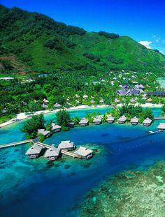 Ancient Marae in Moorea, French Polynesia | Moorea - The ...