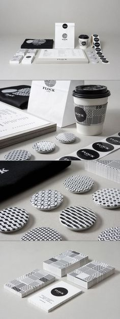 Geometric patterns are extremely versatile, and perfect for many different types of branding. Inside, we give you a curation of 50 inspiring geometric pattern ideas and inspiration. Brand Identity Design, Corporate Design, Branding Design, Pattern Design, Print Design, Design Design, Logo Design, Menu Design, Cafe Branding