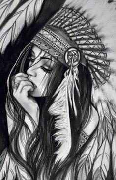 Девушка - Схемы вышивки - ValentinaBAR - Авторы - Портал «Вышивка крестом»