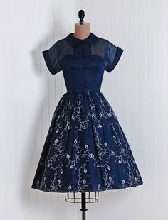 50s dress - wish we still dressed like this
