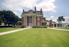 Have your wedding at the historic cattle baron mansion, Thistle Hill, located in Fort Worth, Texas. Visit historicfortworth.org for more information