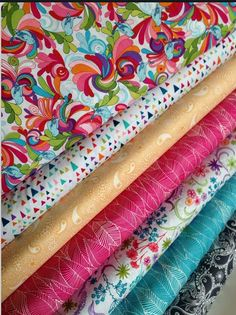 ~ In the Bloom fabric bundle by Valorie Wells for Robert Kaufman and Fabric Shoppe, Fat Quarter bundle, 7 total by fabricshoppe on Etsy . Fat Quarters, Fabric Shop, Buy Fabric, Coordinating Fabrics, Textiles, Fabulous Fabrics, Love Sewing, African Fabric, Fabric Patterns