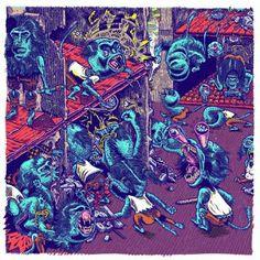brutalgera: Ape Unit - Turd (2015), Grindcore